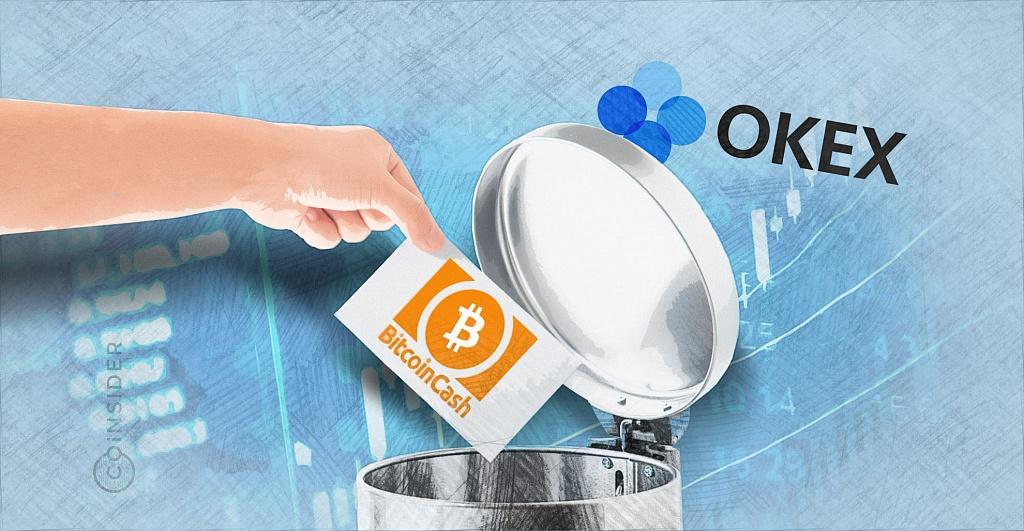 Bitcoin Cash исчезнет из листинга криптобиржи OKEx
