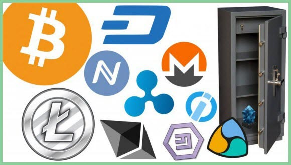 Популярные он-лайн сервисы для хранения вашей криптовалюты
