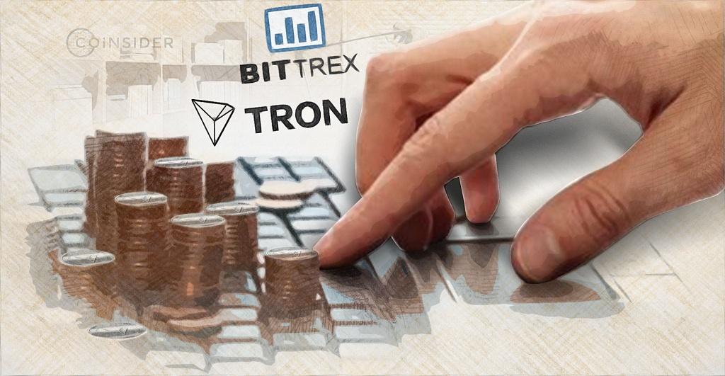 Обновление Tron получит поддержку со стороны криптобиржи Bittrex