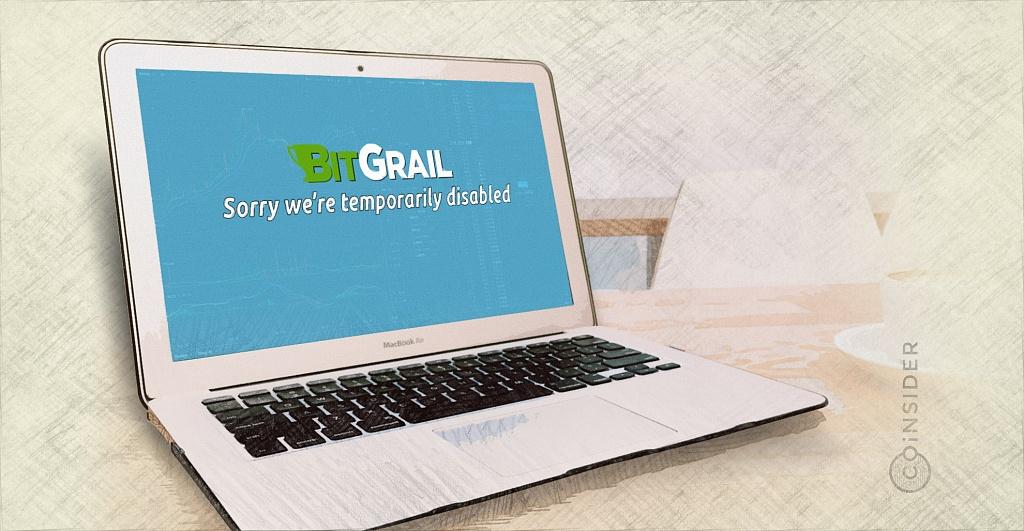 Биржа криптовалют BitGrail снова приостановила работу